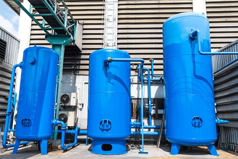 مخازن هوای فشرده و گاز صنعتی